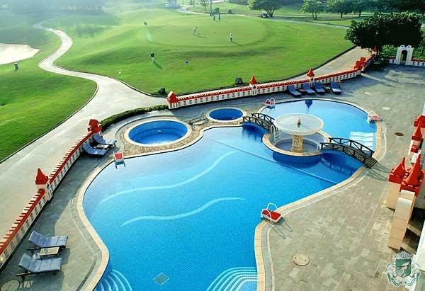 泳池畔酒会场地
